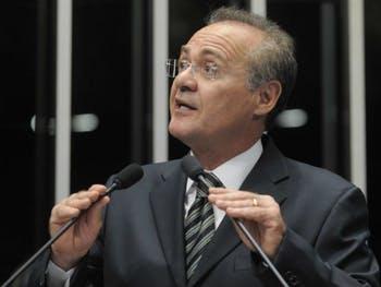"""""""Nunca me retratei e não seria agora que me retrataria para o Benedito de Lira"""", diz Renan Calheiros"""