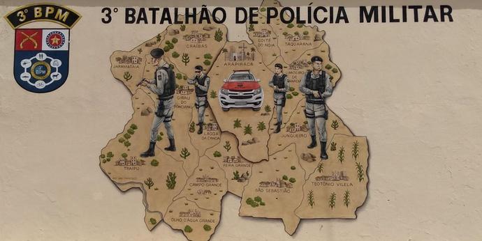 3º BPM atinge marca histórica e registra apenas dois homicídios em Arapiraca no mês de Novembro