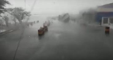 Moradores registram fortes chuvas em municípios do Sertão alagoano