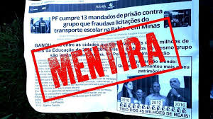 COMBATE AO FALSO  Senado analisa projeto que propõe criminalização de fake news