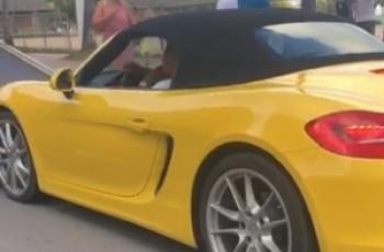BPTran apreende Porsche na orla de Pajuçara com cerca de R$ 10 mil em dívidas