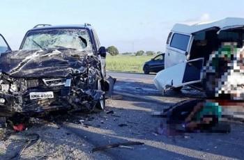 Colisão entre veículos deixa um morto e três feridos em Marechal Deodoro