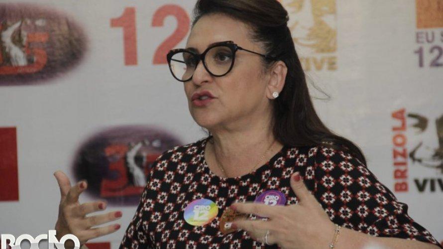"""Senadora Kátia Abreu pega ar ao ser colocada em grupo contra Renan: """"voto Renan e vai pra puta que te pariu"""""""