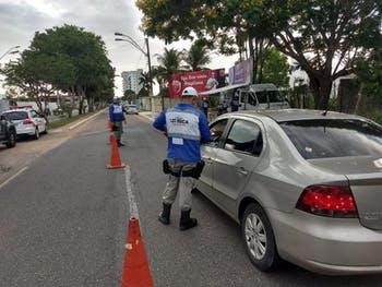 Operação da Lei Seca flagra seis condutores inabilitados e registra dois casos de alcoolemia