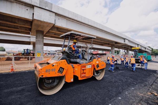 MOBILIDADE Obra do Viaduto da PRF será concluída até o final deste ano, diz ministro da Infraestrutura