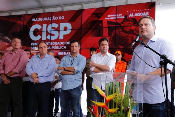 Messias recebe o 17º Centro Integrado de Segurança Pública do Estado de Alagoas