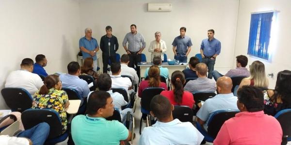 SERTÃO Presidente da Casal destaca recuperação financeira em reunião com novos diretores