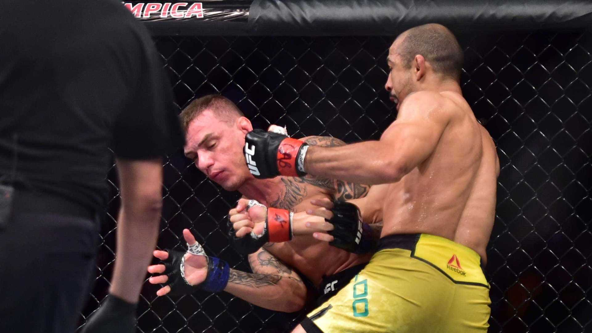 osé Aldo atropela Renato Moicano no UFC Fortaleza