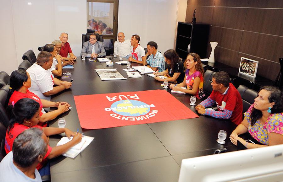 Presidente do TJAL vai articular ações em prol da população de rua