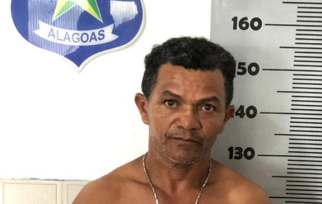 Suspeito de estuprar enteada de 9 anos de idade é preso pela Polícia Civil em Delmiro Gouveia