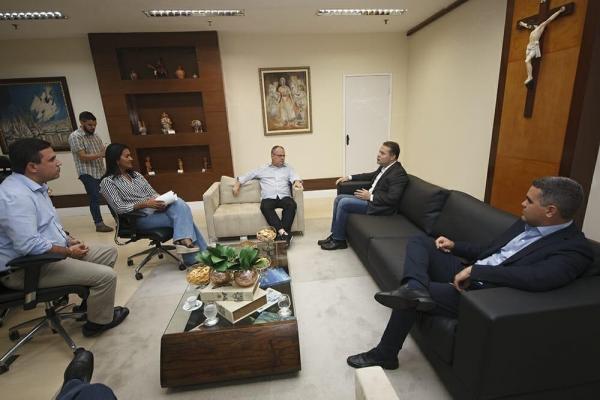PARCERIA Governadores de Alagoas e Sergipe se unem para construir ponte entre os estados