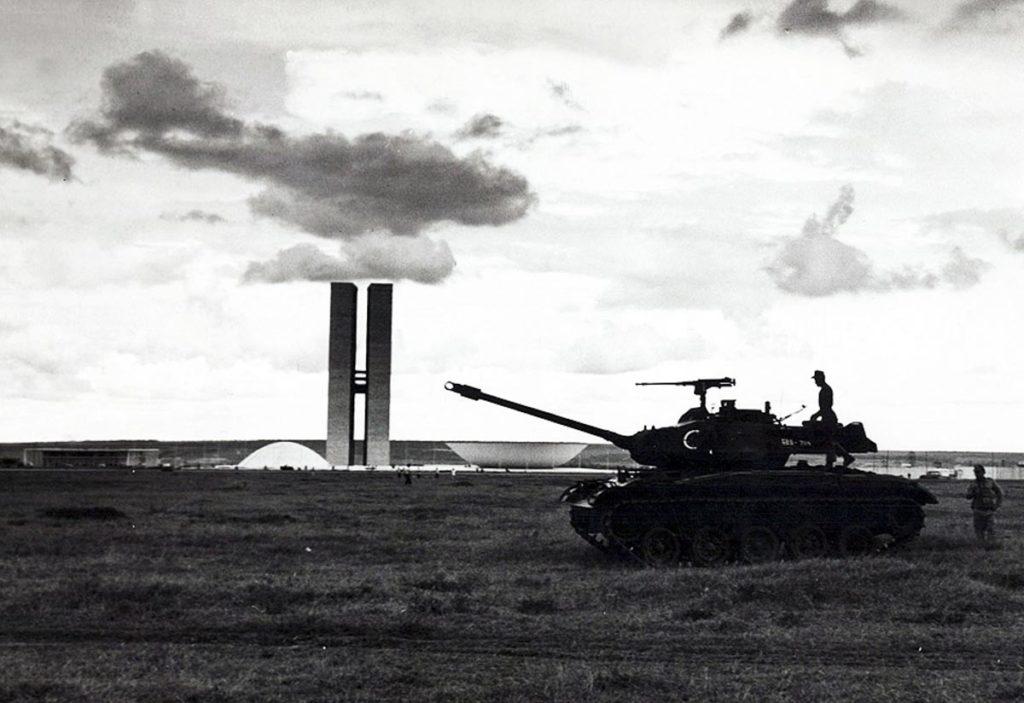 31/3/1964, Brasília sitiada: ninguém entra nem sai nem telefona