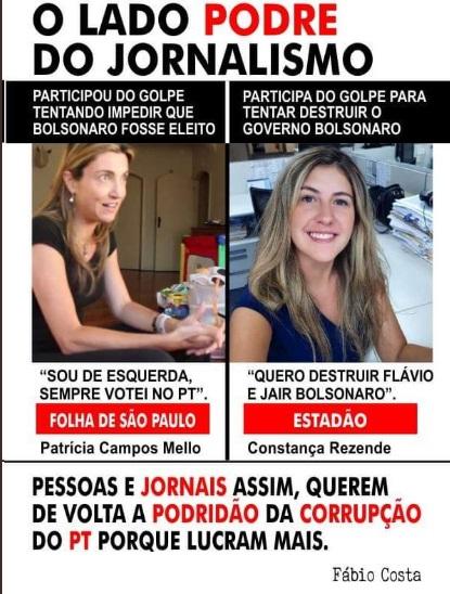 Milícias de Bolsonaro esperaram 2 dias para reiniciar ataques a 2 mulheres