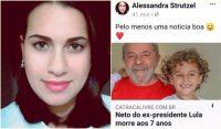 Não desculpamos Alessandra Strutzel