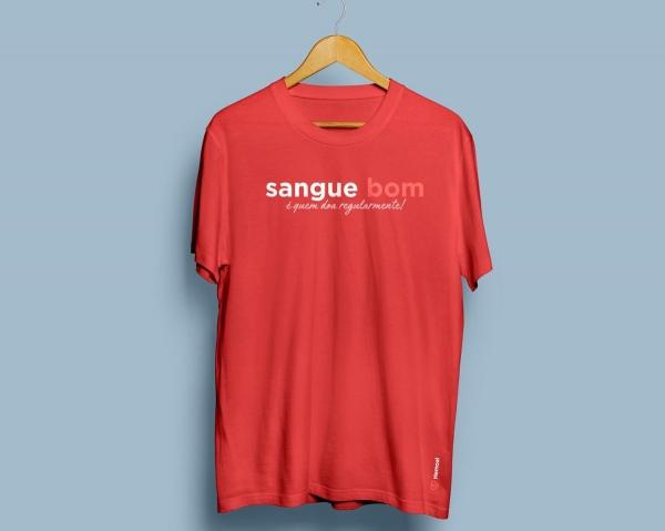 PREVENÇÃO Campanha de Páscoa do Hemoal contempla doadores com uma camisa especial