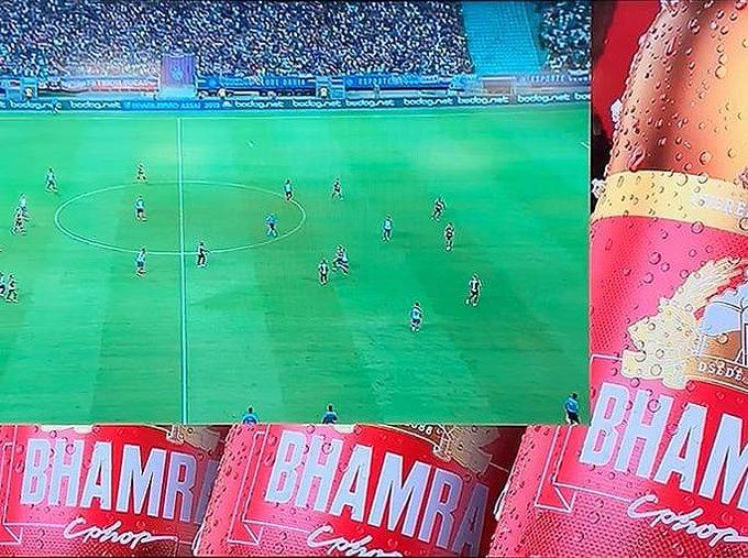 rro em nome de marca de cerveja chama atenção em transmissão da Globo