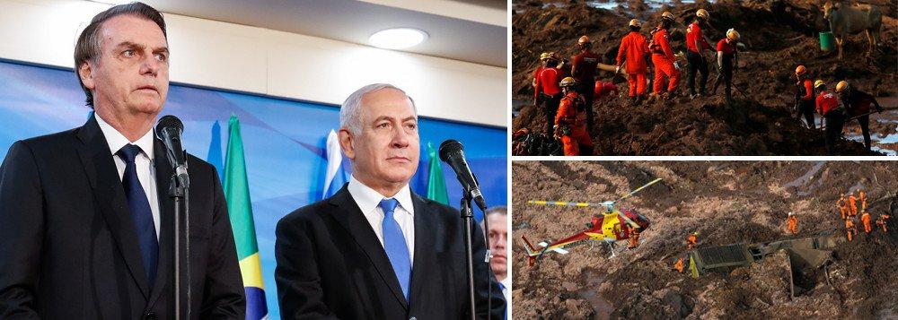 BOLSONARO CONDECORA SOLDADOS ISRAELENSES QUE NÃO ENCONTRARAM UM CORPO EM BRUMADINHO
