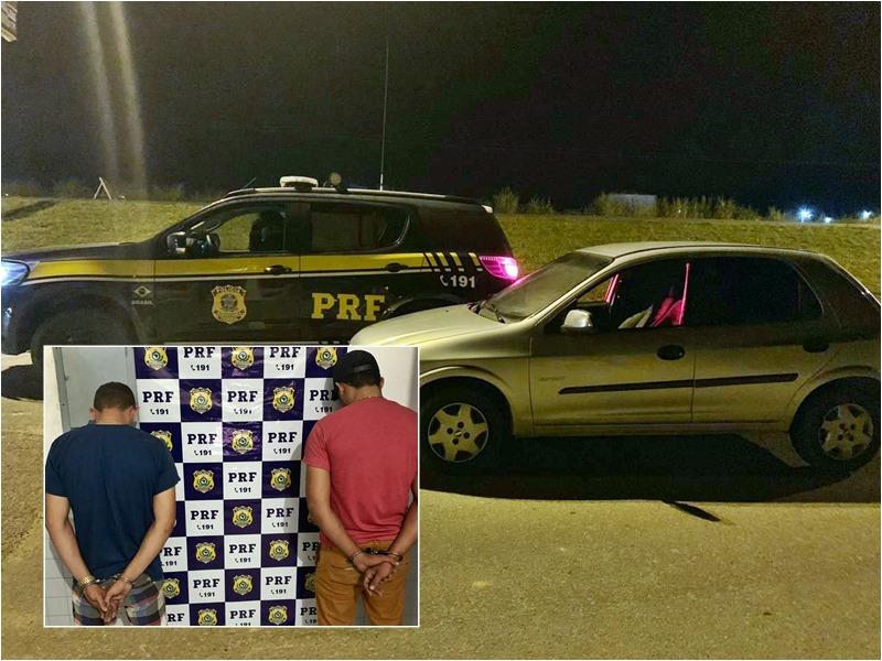 Procurado pela Justiça é preso e veículo adulterado é apreendido na BR 101 em São Miguel dos Campos