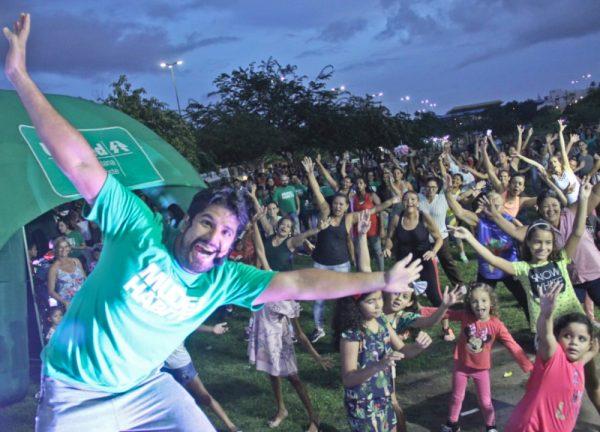 MAIS SAÚDE: #VEMPROBOSQUE DESTE DOMINGO TRAZ AULÃO DE GINÁSTICA E RITMOS