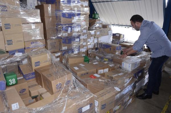 ATENÇÃO BÁSICA Dose Certa: 4.529 kits de medicamentos começaram a ser distribuídos pela Sesau