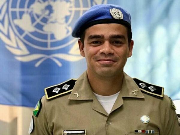 Tenente da PM.AL é agraciado pela 2ª vez com medalha da ONU