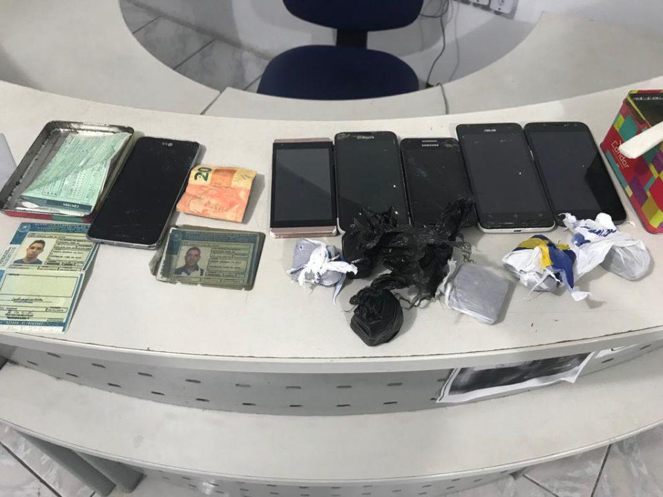Polícia Civil prende acusado de tráfico de drogas na Jatiúca