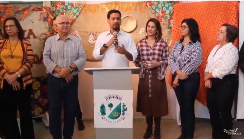 Rogério Teófilo destaca apoio do senador Cunha e FHC  no São João de Arapiraca