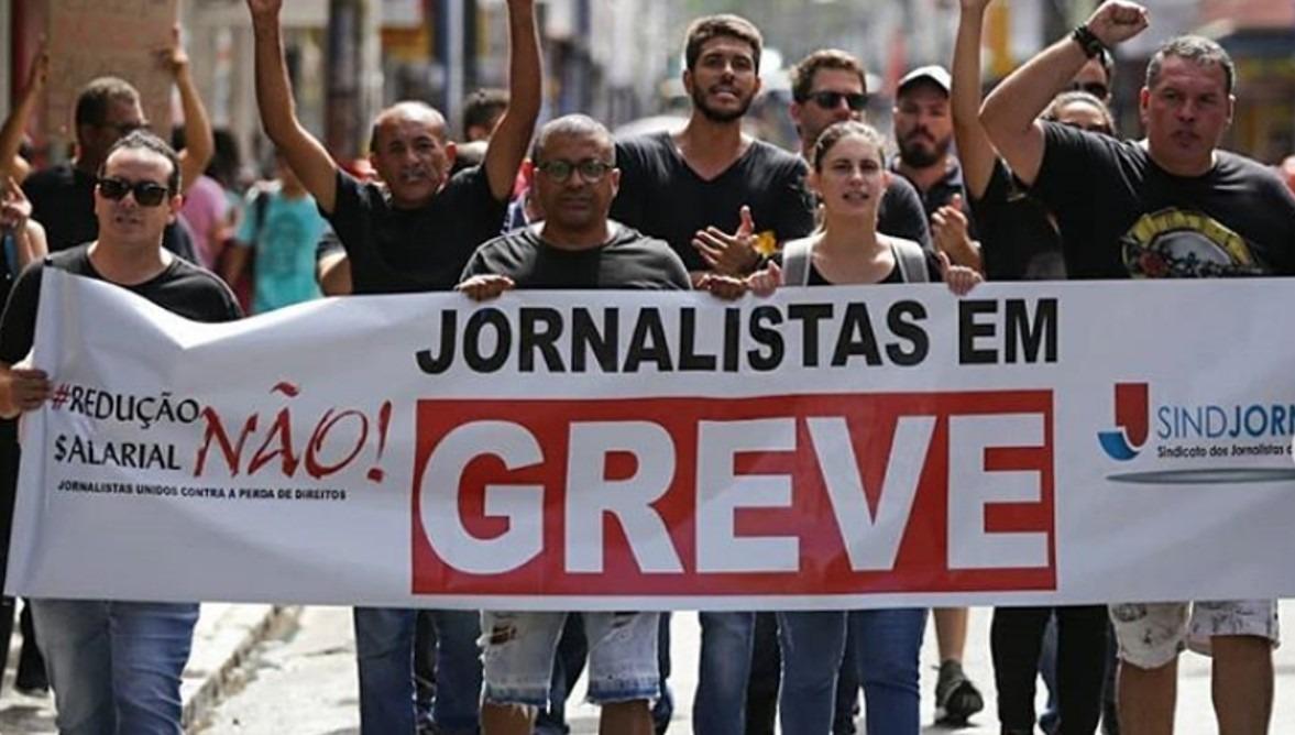 Greve Jornalistas: Justiça determina reintegração de funcionários demitidos de Organizações Arnon de Mello