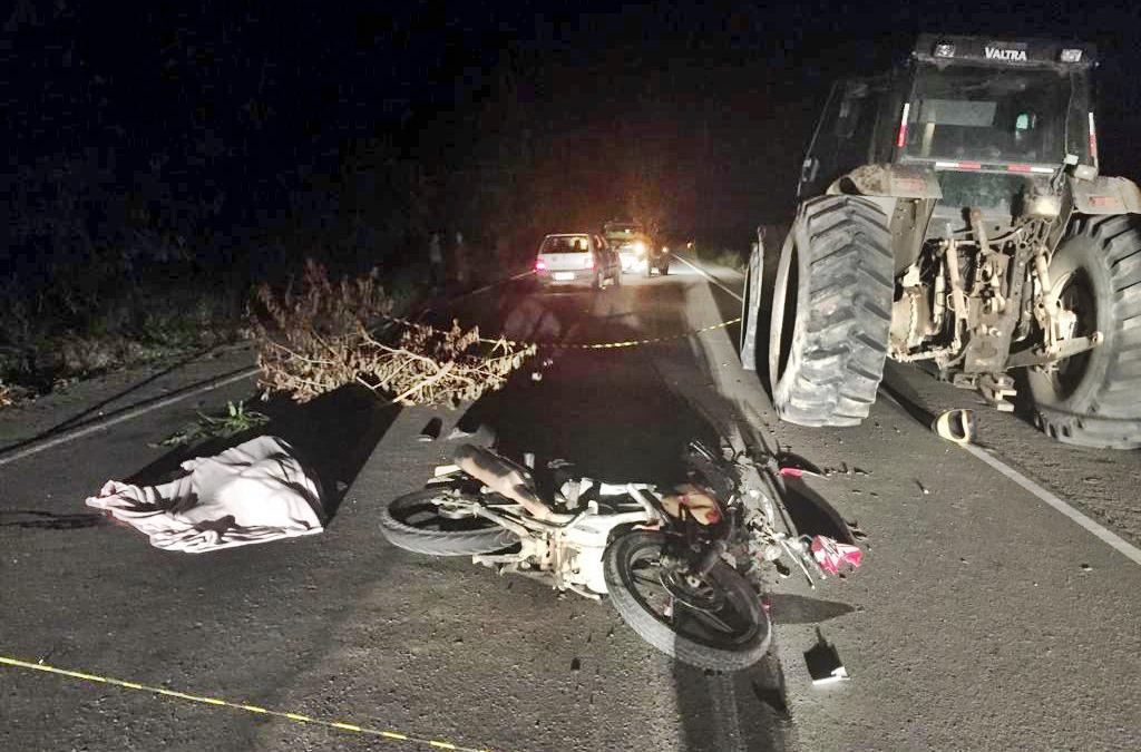 Acidente com moto na AL 220 deixa uma vítima fatal em São Miguel dos Campos