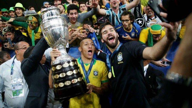 Jornal ironiza título do Brasil na Copa América e diz que time está atrás da Argentina