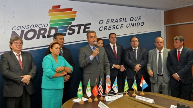 O movimento de governadores do Nordeste que faz contraponto político a Bolsonaro