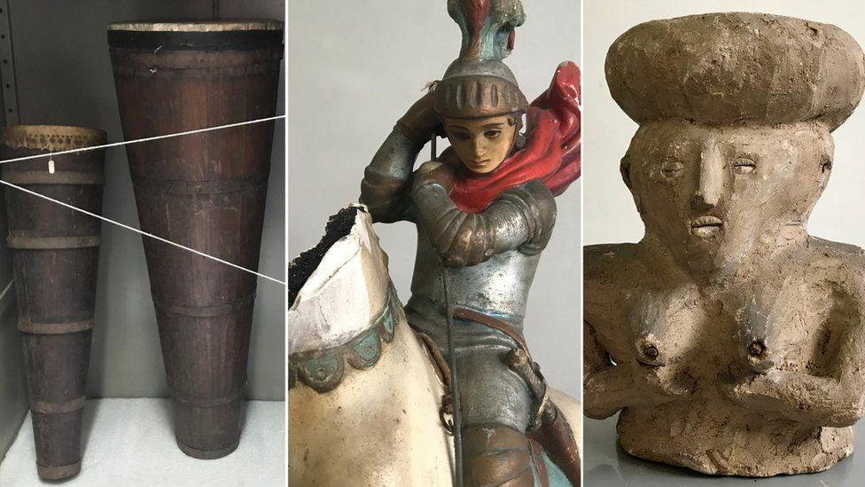 A longa luta para tirar itens sagrados de umbanda e candomblé do Museu da Polícia, que os confiscou há mais de um século