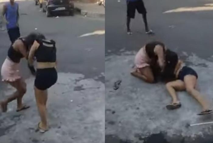 Cenas fortes! Mulher mata amante do pai espancada enquanto população filma a ação