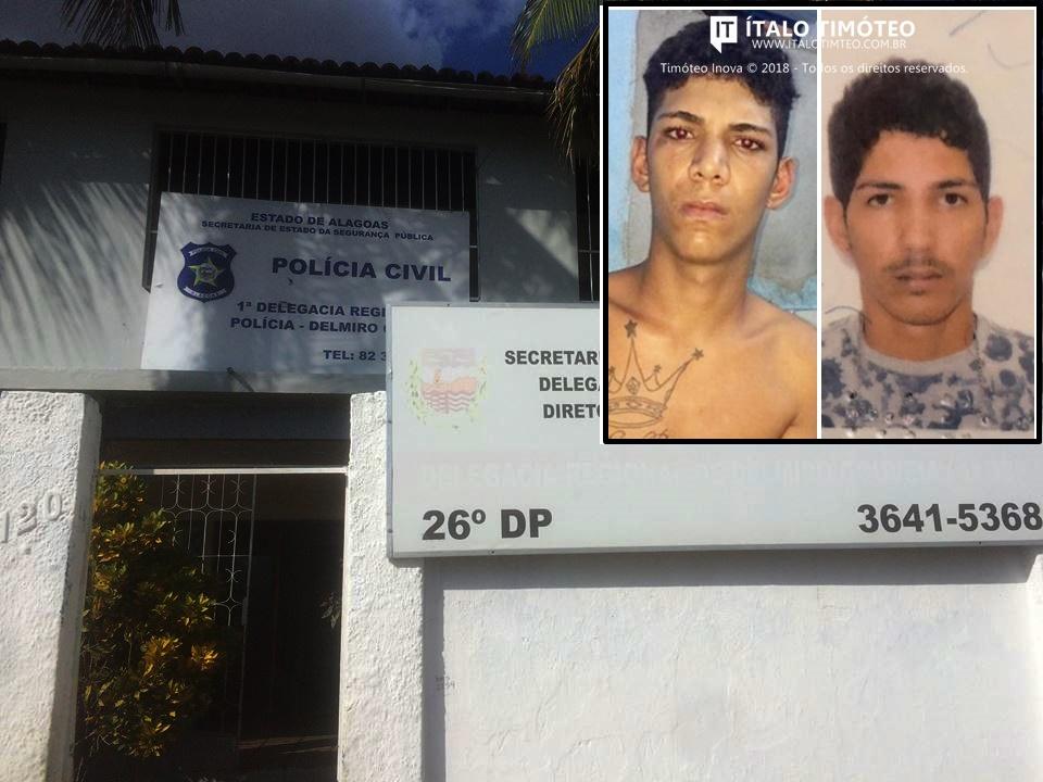 Oito pessoas que foram vítimas de roubo reconhecem jovens presos em Delmiro Gouveia
