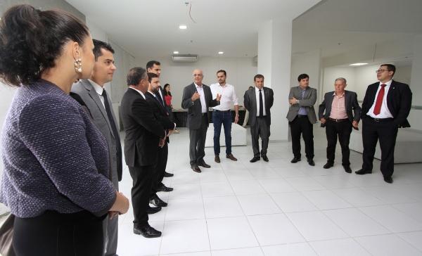 Representantes do Judiciário fazem visita técnica as instalações do Hospital da Mulher