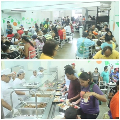 Arapiraca: restaurante popular fornece almoço a preço popular