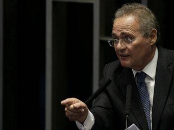 Renan Calheiros critica ato do MBL e diz que manifestantes pregam o abuso de poder