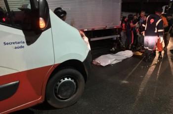 Sobrinha morre e tia fica ferida após grave acidente em Arapiraca