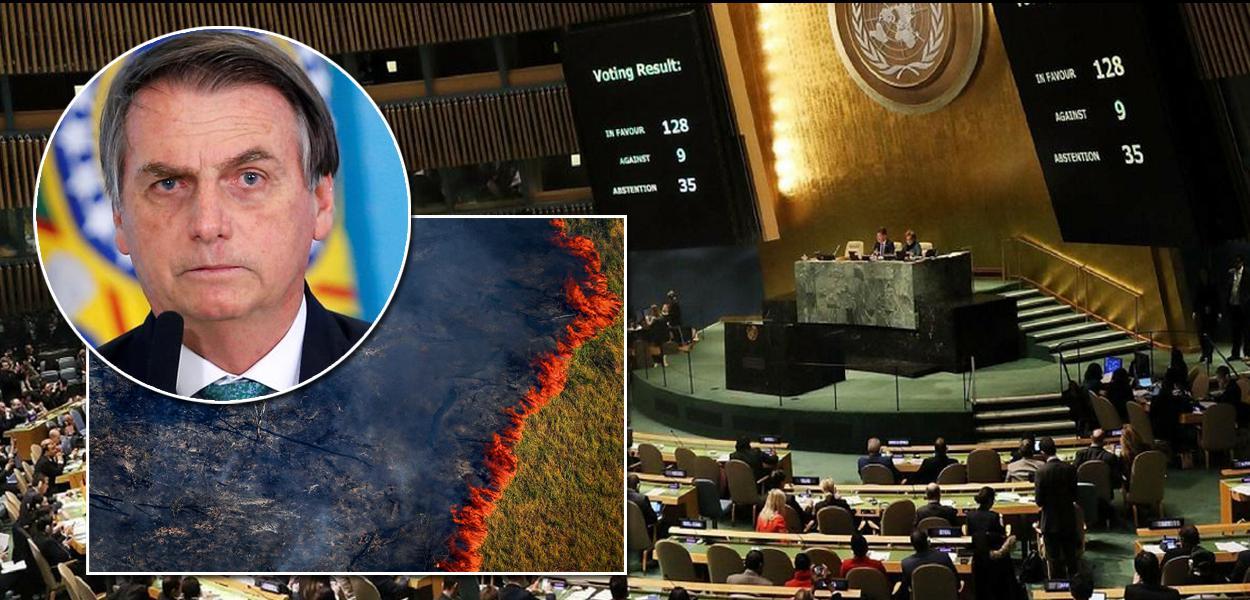 Vexame: Brasil é vetado pela ONU na cúpula do clima em Nova York