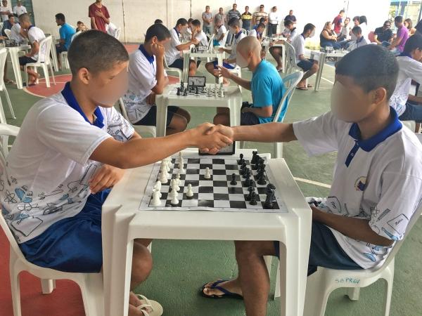 CONQUISTA Socioeducando alagoano é ouro no xadrez e se classifica para participar da Copa Brasil