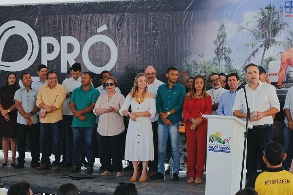 BENEFÍCIO Nos 70 anos de emancipação, Major Izidoro ganha obra do Pró-Estrada