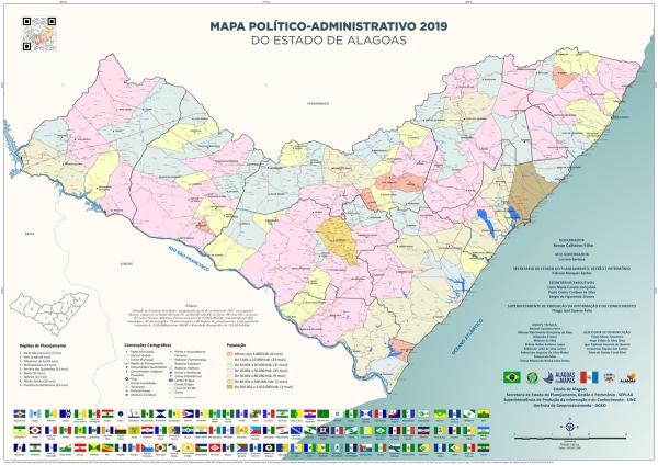 DADOS ATUALIZADOS Nos 202 anos de AL, Governo lança coleção inédita de mapas do estado e dos municípios