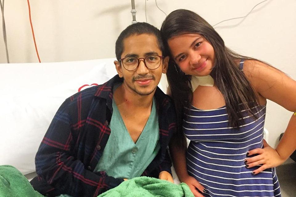 SAÚDE Nascida para curar: menina de 13 anos salva irmão com leucemia rara