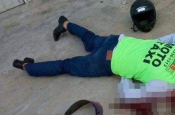 Mototaxista é assassinado a tiros na parte alta de Maceió