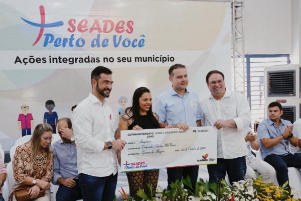 EM ARAPIRACA Governador assina ordens de serviço e anuncia investimentos para o Agreste alagoano
