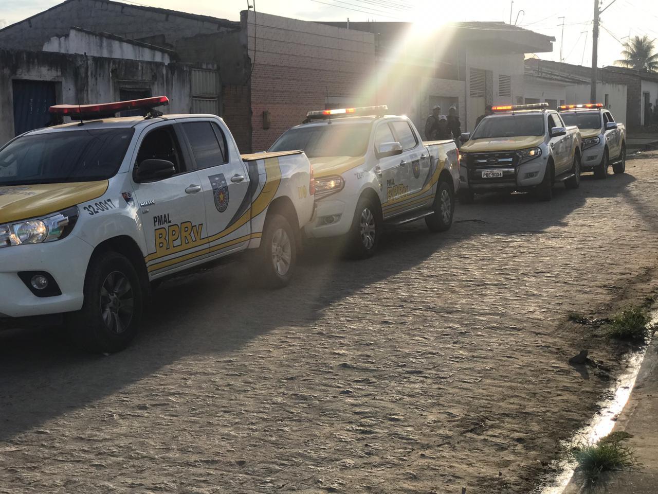 Forças de segurança realizam megaoperação em São Miguel dos Campos