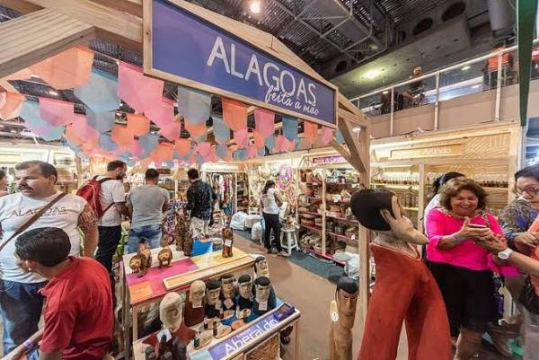 ECONOMIA CRIATIVA Produtos alagoanos batem recorde de vendas no 13º Salão do Artesanato em São Paulo