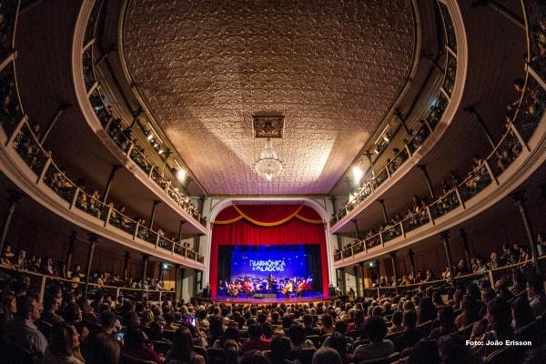 PATRIMÔNIO CULTURAL DE ALAGOAS Teatro Deodoro celebra 109 anos com programação de 11 a 17 de novembro