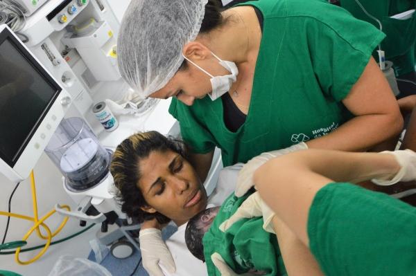 ATENDIMENTO Nasce o 1º bebê no Hospital da Mulher Dra. Nise da Silveira