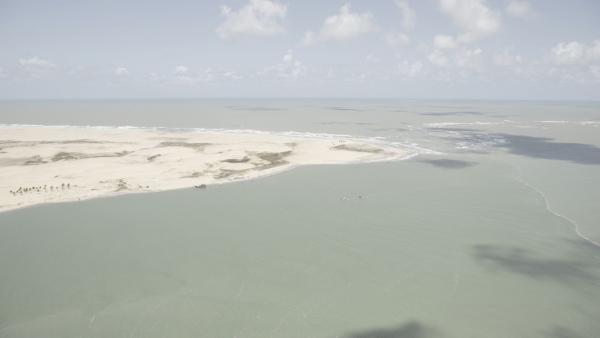 MONITORAMENTO Sobrevoo: Órgãos ambientais constatam que óleo não chegou ao leito do Rio São Francisco